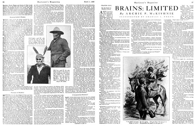 Article Preview: BRAINS: LIMITED, March 1923 | Maclean's