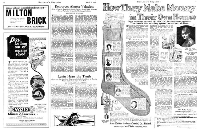 Article Preview: Resources Almost Valueless, March 1923 | Maclean's