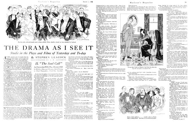 Article Preview: THE DRAMA AS I SEE IT, March 1923 | Maclean's
