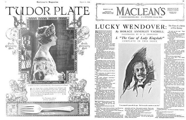 Article Preview: LUCKY WENDOVER:, March 1923 | Maclean's