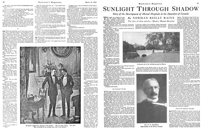Article Preview: SUNLIGHT THROUGH SHADOW, March 1923 | Maclean's