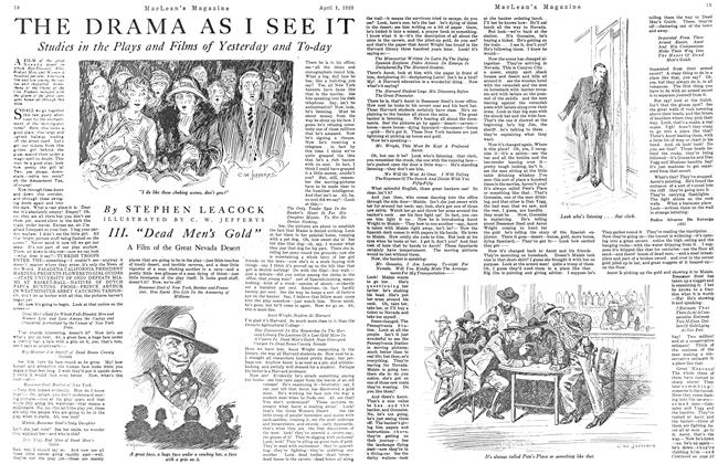 Article Preview: THE DRAMA AS I SEE IT, April 1923 | Maclean's