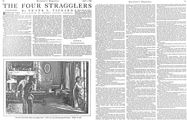 Article Preview: THE FOUR STRAGGLERS, April 1923 | Maclean's