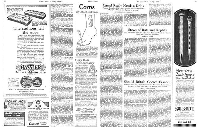 Article Preview: Should Britain Coerce France?, April 1923   Maclean's