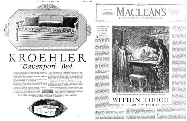 Article Preview: WITHIN TOUCH, April 1923 | Maclean's