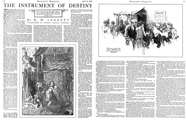 Article Preview: THE INSTRUMENT OF DESTINY, April 1923 | Maclean's