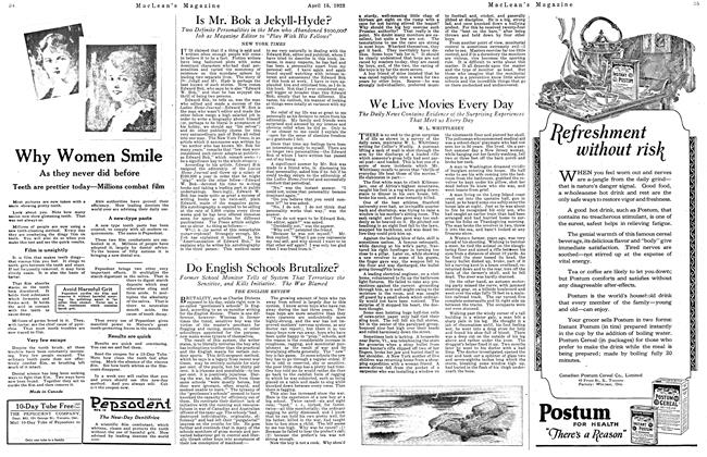 Article Preview: Is Mr. Bok a Jekyll-Hyde?, April 1923 | Maclean's