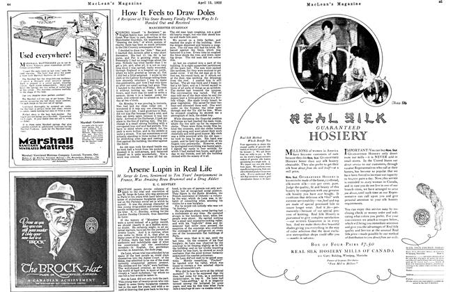Article Preview: How It Feels to Draw Doles, April 1923 | Maclean's