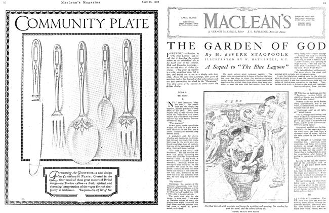 Article Preview: THE GARDEN OF GOD, April 1923 | Maclean's