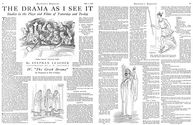 Article Preview: THE DRAMA AS I SEE IT, May 1923 | Maclean's
