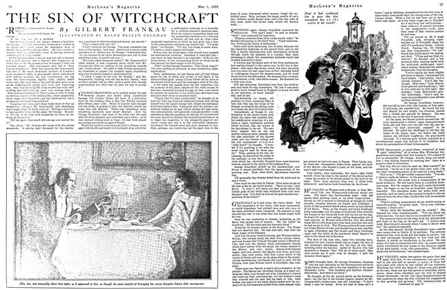 Article Preview: THE SIN OF WITCHCRAFT, May 1923 | Maclean's