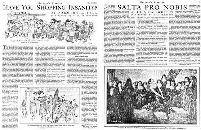 Article Preview: HAVE You SHOPPING INSANITY?, May 1923 | Maclean's