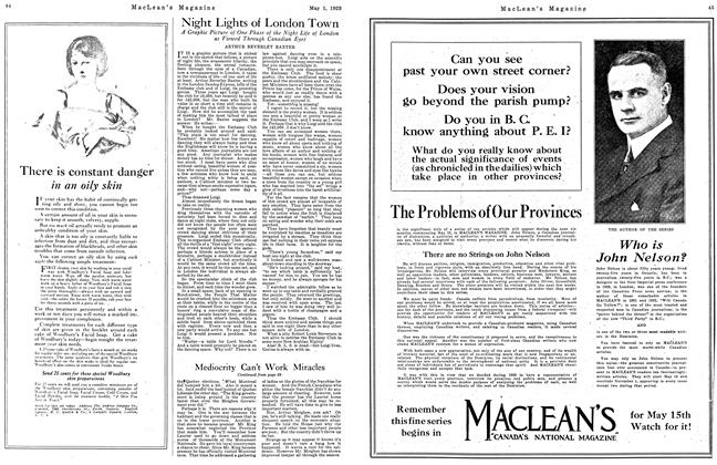 Article Preview: Night Lights of London Town, May 1923 | Maclean's