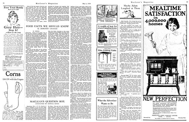 Article Preview: MACLEAN'S QUESTION BOX, May 1923 | Maclean's