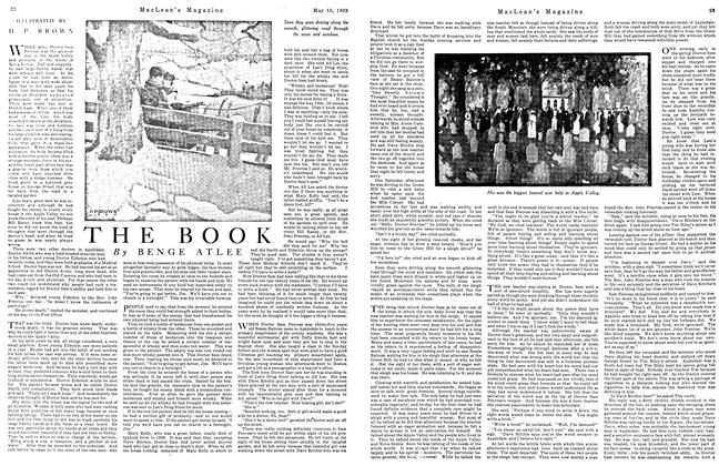 Article Preview: THE BOOK, May 1923 | Maclean's