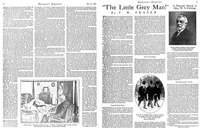 "Article Preview: ""The Little Grey Man!, May 1923 