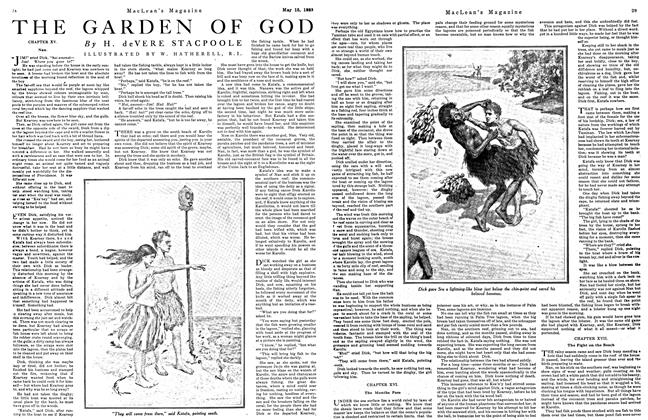 Article Preview: THE GARDEN OF GOD, May 1923 | Maclean's