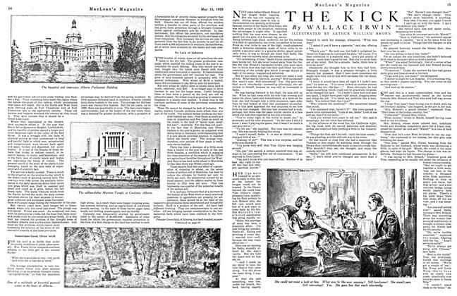 Article Preview: THE KICK, May 1923 | Maclean's