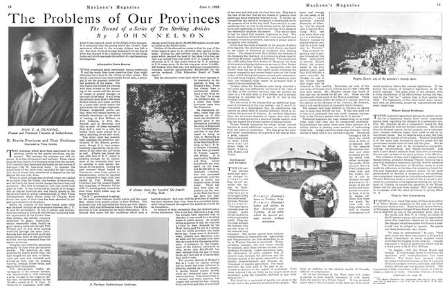 Article Preview: The Problems of Our Provinces, June 1923 | Maclean's