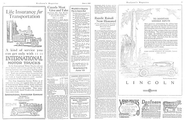 Article Preview: Bandit Raisuli Now Honored, June 1923 | Maclean's