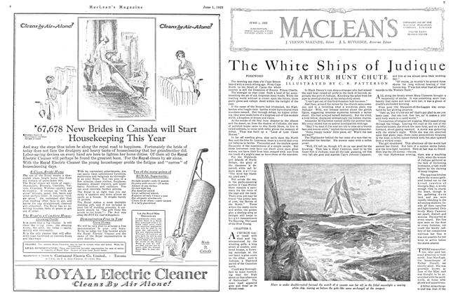 Article Preview: The White Ships of Judique, June 1923 | Maclean's