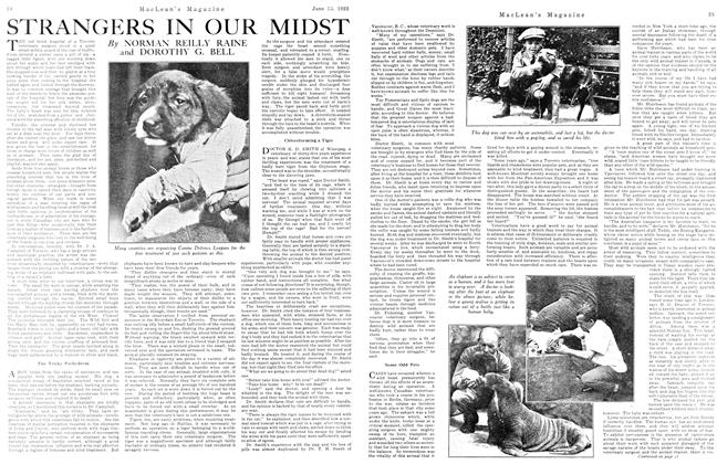 Article Preview: STRANGERS IN OUR MIDST, June 1923 | Maclean's