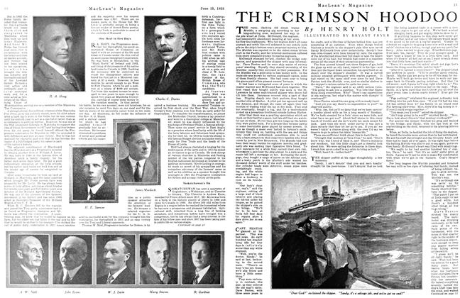 Article Preview: THE CRIMSON HOODOO, June 1923 | Maclean's