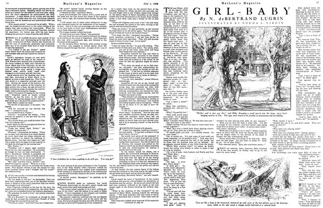 Article Preview: GIRL - BABY, July 1923 | Maclean's