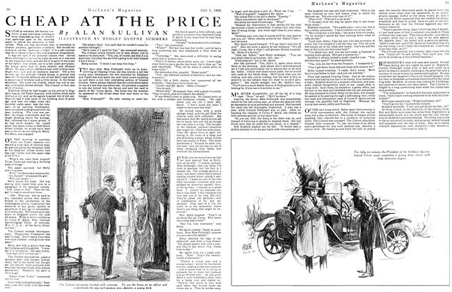 Article Preview: CHEAP AT THE PRICE, July 1923 | Maclean's