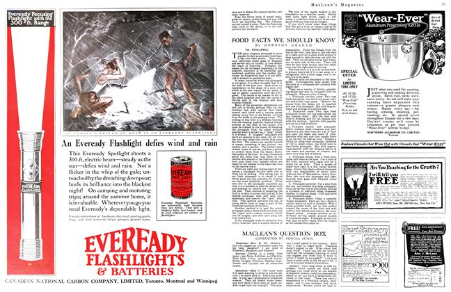 Article Preview: MACLEAN'S QUESTION BOX, July 1923 | Maclean's