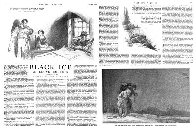 Article Preview: BLACK ICE, July 1923 | Maclean's