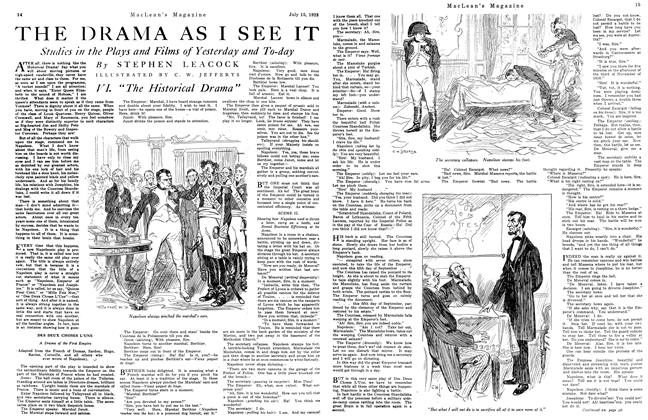 Article Preview: THE DRAMA AS I SEE IT, July 1923 | Maclean's