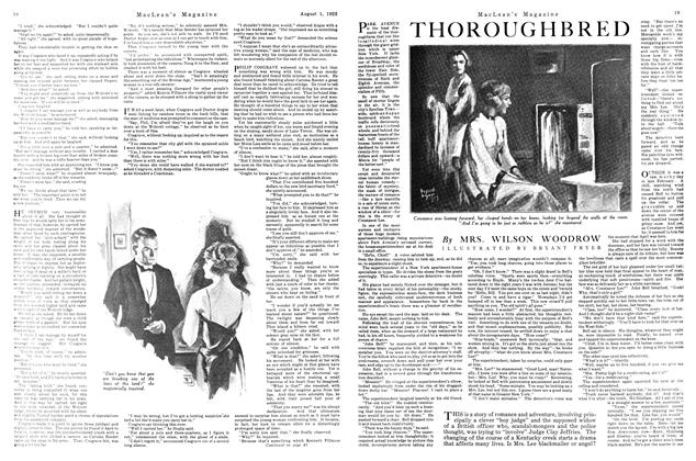 Article Preview: THOROUGHBRED, August 1923 | Maclean's