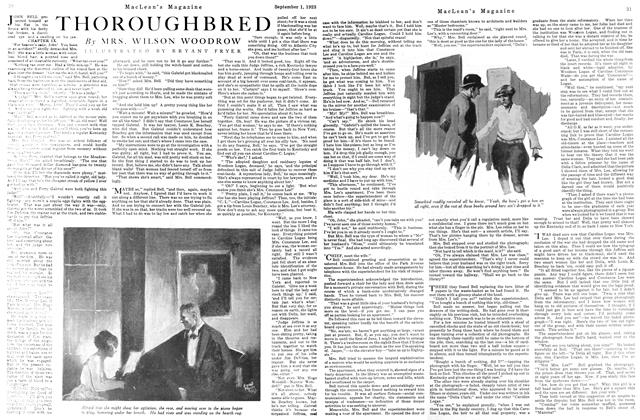 Article Preview: THOROUGHBRED, September 1923 | Maclean's