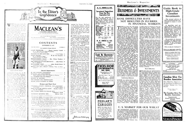 Article Preview: U. S. MARKET FOR OUR WHEAT, September 1923   Maclean's