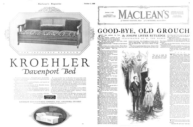 Article Preview: GOOD-BYE, OLD GROUCH, October 1923 | Maclean's