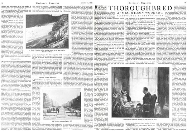 Article Preview: THOROUGHBRED, October 1923 | Maclean's