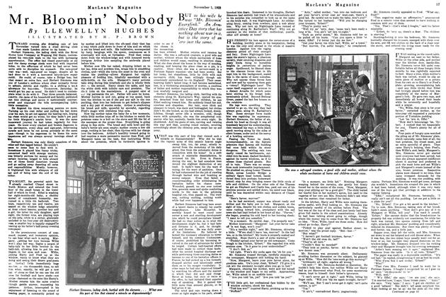 Article Preview: Mr. Bloomin' Nobody, November 1923 | Maclean's
