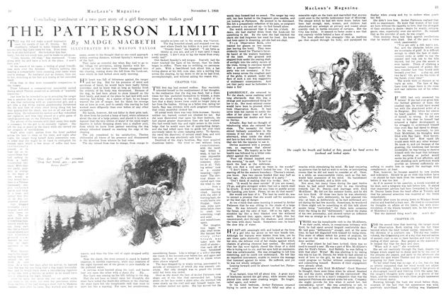 Article Preview: THE PATTERSON LIMIT, November 1923 | Maclean's