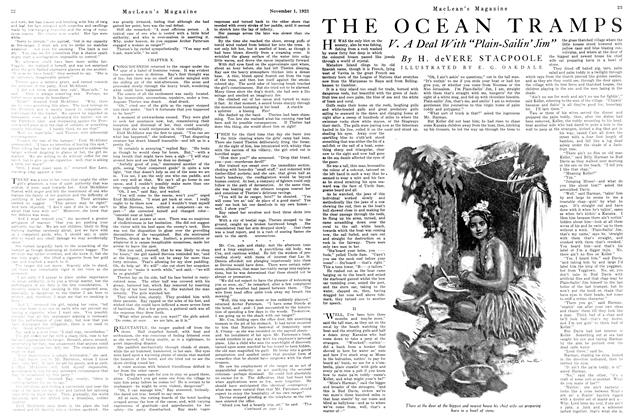 Article Preview: THE OCEAN TRAMPS, November 1923 | Maclean's