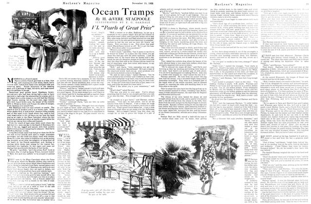 Article Preview: Ocean Tramps, November 1923 | Maclean's