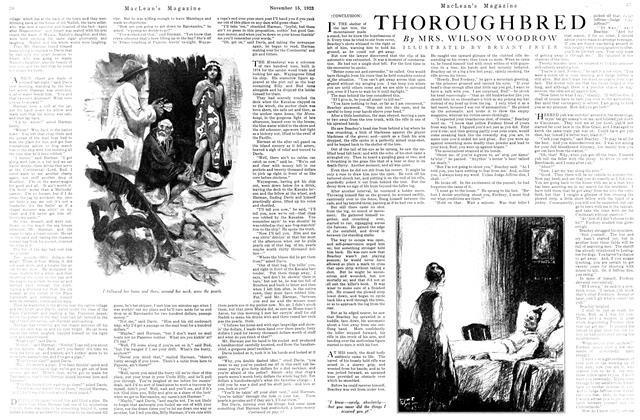 Article Preview: THOROUGHBRED, November 1923 | Maclean's
