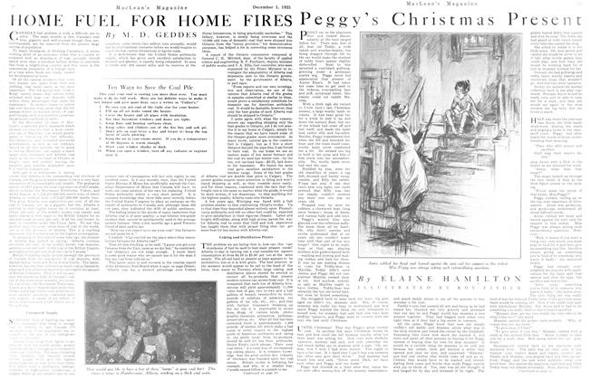 Article Preview: HOME FUEL FOR HOME FIRES, December 1923 | Maclean's