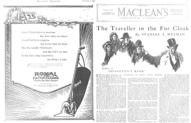 Article Preview: The Traveller in the Fur Cloak, December 1923 | Maclean's