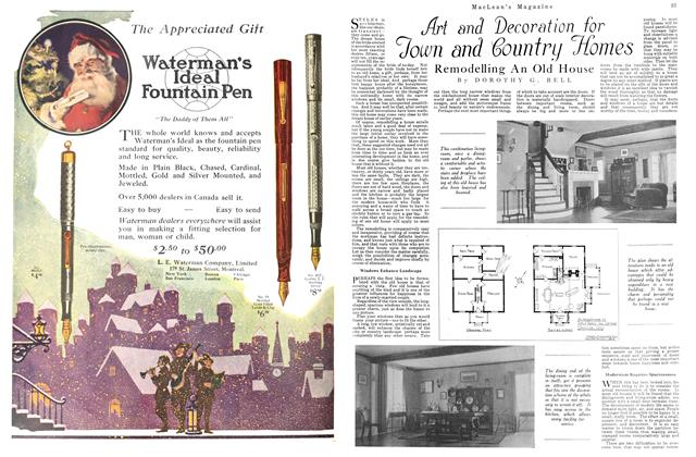 Article Preview: Art and Decoration for Town and Country Homes, December 1923 | Maclean's