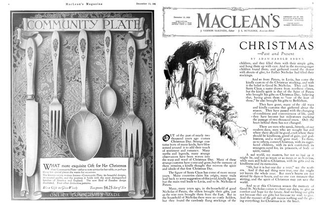 Article Preview: CHRISTMAS, December 1923 | Maclean's