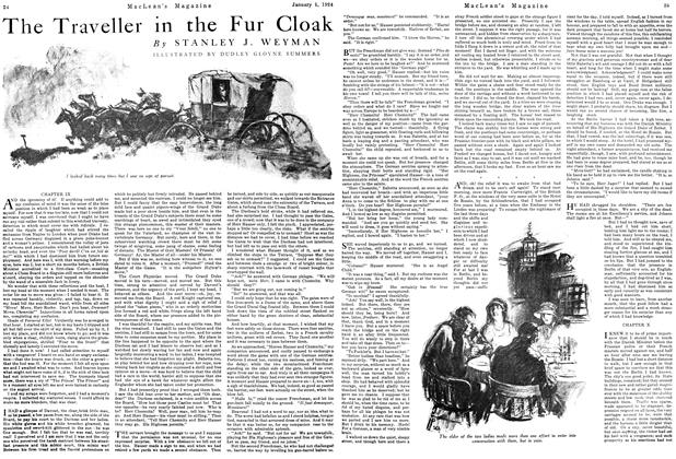 Article Preview: The Traveller in the Fur Cloak, January 1924 | Maclean's