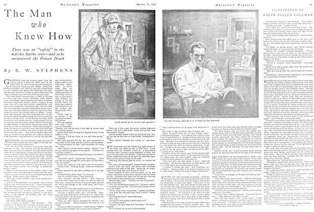 Article Preview: The Man who Knew How, January 1924   Maclean's