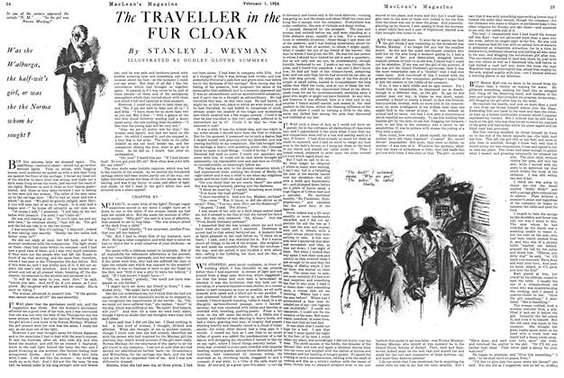 Article Preview: The TRAVELLER in the FUR CLOAK, February 1924   Maclean's