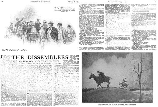 Article Preview: THE DISSEMBLERS, February 1924 | Maclean's